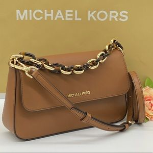 MICHAEL KORS SOFIA MD FLAP SHOULDER LUGGAGE